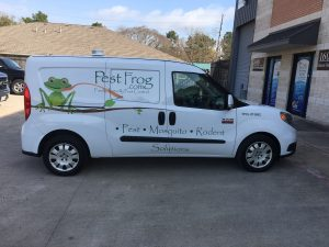 Pest Frog Custom SUV Wrap