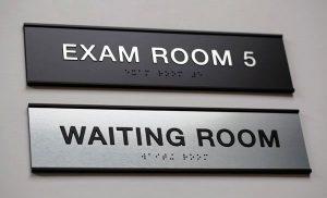 Indoor Room Identification ADA Signage