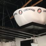 Overhead Bowl Trade Show Element