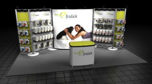 Frolick Custom Tradeshow Display