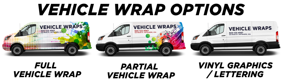 Houston TX Commercial Vehicle Wraps Graphics - Custom decal graphics on vehiclesvinyl car wraps in houston tx