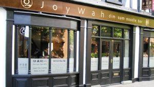 JoyWah Exterior Storefront Signage