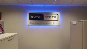 Indoor Lighted Lobby Sign Royal Cyber